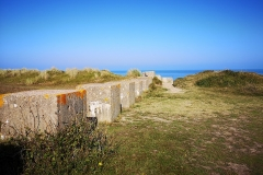 Anti-tank defences by sea at Sizewell Suffolk