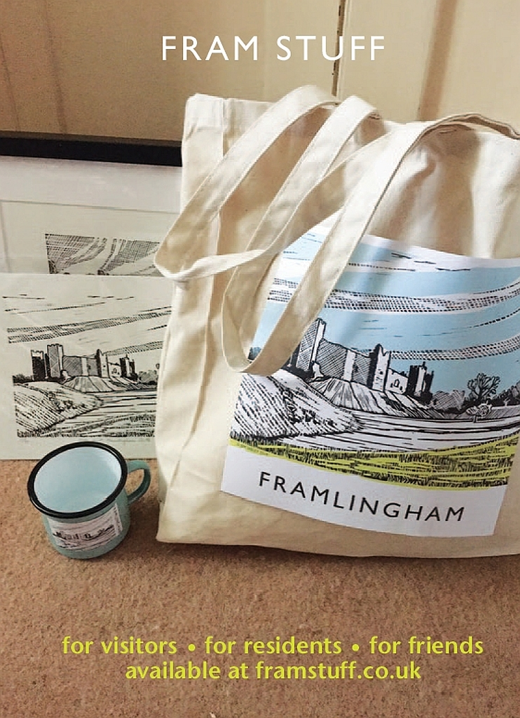 Framlingham merchandise from Xtrahead Marketing