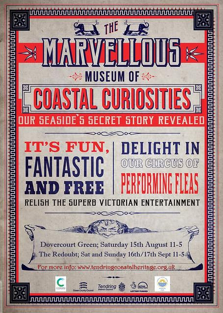 Tendring's Touring Marvellous Museum of Coastal Curiosities poster