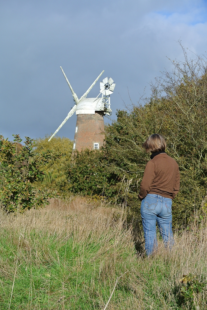 Admiring Billingford Mill Suffolk by Xtrahead
