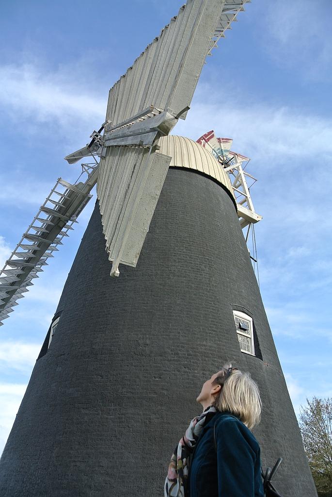 Thelnetham Windmill Suffolk by Xtrahead
